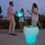 seau à champagne lumineux led sans fil action calvin vendu sur deco-lumineuse.fr