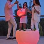 seau à glaçons lumineux led sans fil rvb solaire action calvin vendu sur deco-lumineuse.fr
