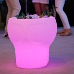 seau à champagne lumineux led sans fil solaire action calvin vendu sur deco-lumineuse.fr