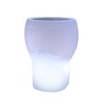 seau à bouteilles glace lumineux led sans fil rvb solaire calvin vendu sur deco-lumineuse.fr