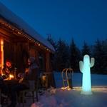 lampadaire led sans fil solaire rvb extérieure pancho 140 vendu sur deco-lumineuse.fr