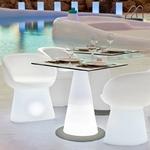 fauteuil lumineux led sans fil solaire extérieur mallorci vendu sur deco-lumineuse.fr