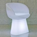 fauteuil lumineux extérieur sans fil solaire design mallorci vendu sur deco-lumineuse.fr