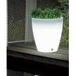 pot lumineux led sans fil rechargeable extérieure conique 40 vendu sur deco-lumineuse.fr