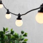 guirlande guinguette extérieure vintage professionnelle 100 M 200 LED vendue sur deco-lumineuse.fr