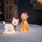 decoration de noel exterieure chien lumineux led vendu sur deco-lumineuse.fr