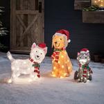 decoration de noel pour exterieur chien lumineux led vendu sur deco-lumineuse.fr