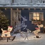 decoration noel exterieure chien lumineux led vendu sur deco-lumineuse.fr