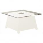 table basse lumineuse led raffy blanche vendue sur www.deco-lumineuse.fr