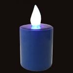 bougie-led-solaire-bleue1