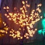 arbre lumineux led cerisier 80cm  vendu sur www.deco-lumineuse.fr