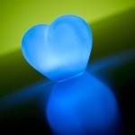 coeur lumineux led piles vendu sur www.deco-lumineuse.fr