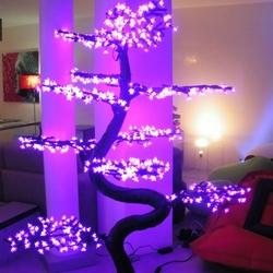 bonsai lumineux led deco zen par excellence deco lumineuse. Black Bedroom Furniture Sets. Home Design Ideas