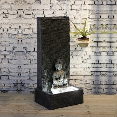 fontaine led bouddha XL MUR vendue sur deco-lumineuse.fr