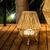 lampe led à poser sans fil exterieur rechargeable sisine 30 vendue sur deco-lumineuse.fr