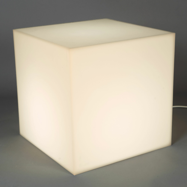 cube lumineux led sans fil nirvana 45 cm deco lumineuse. Black Bedroom Furniture Sets. Home Design Ideas