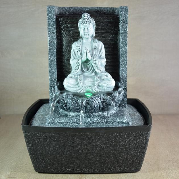 fontaine bouddha interieur bouddha nirvana1