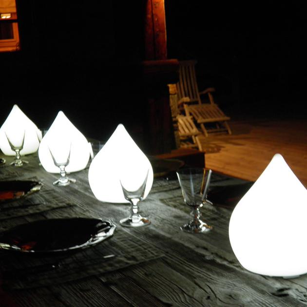 Lampe led sans fil magic tear avec telecommande deco - Lampe avec telecommande ...