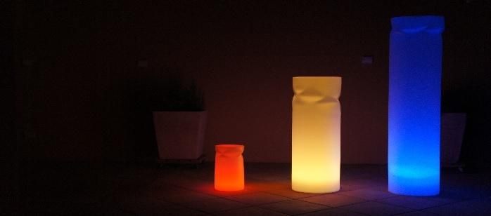 colonne lumineuse,colonne led,colonne led design,luminaire led,luminaire design,