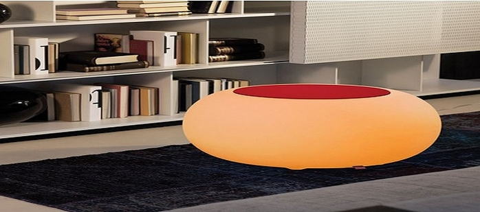 poufs lumineux led int rieur ou ext rieur deco lumineuse. Black Bedroom Furniture Sets. Home Design Ideas
