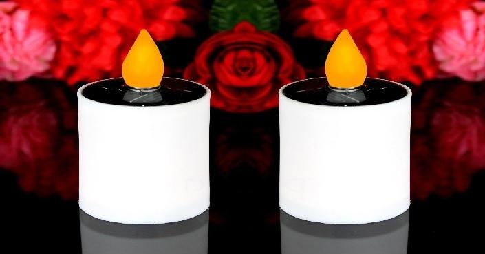 bougie a led,bougie led,bougies a led solaire,deco solaire,deco bougie vendu sur www.deco-lumineuse.fr