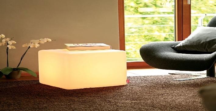 Luminaire led design avec fil-Deco Lumineuse