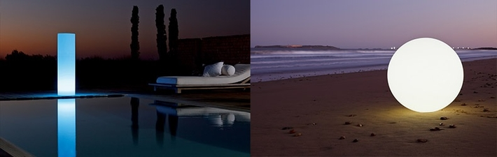 d coration lumineuse ext rieure jardin piscine deco lumineuse. Black Bedroom Furniture Sets. Home Design Ideas