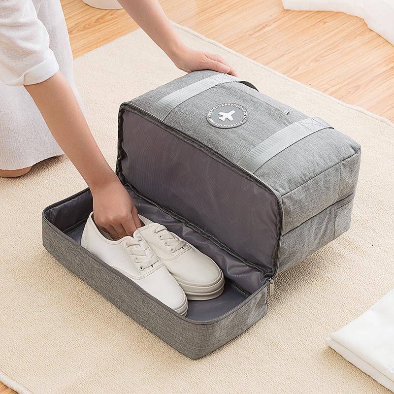 Sac de voyage avec rangement de chaussures et anti-humidité