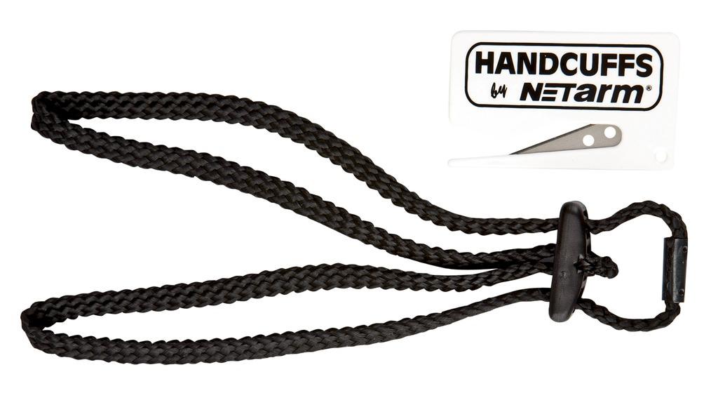 Menottes jetables en textile Handcuff