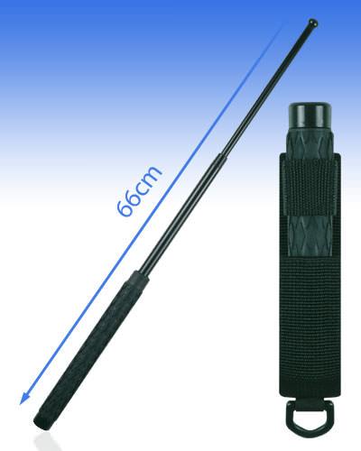Bâton télescopique 66 cm acier