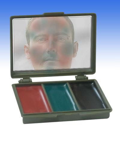 Peinture camouflage 3 couleurs avec miroir