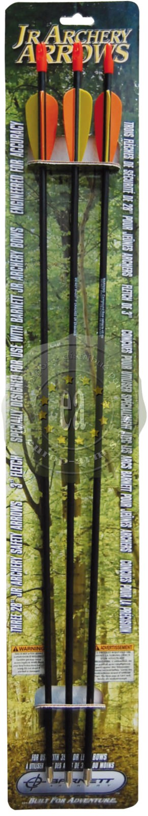 Kit de 3 flèches 71 cm  BARNETT