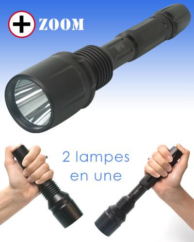 Lampe torche TACTICAL CREE Q5 240L