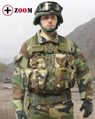 Gilet d\'assaut militare camouflage CE