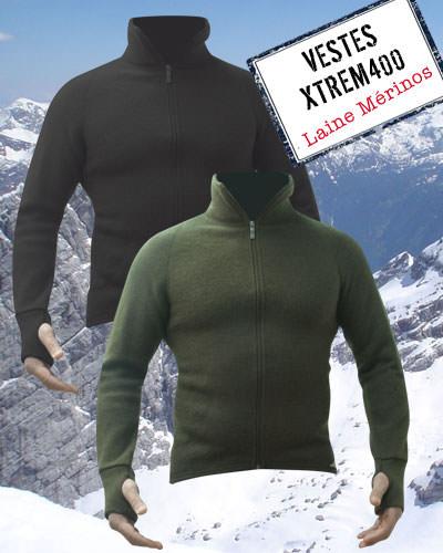 Veste XTREM400 Grand froid