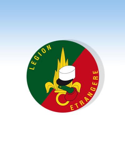 Autocollant Légion étrangère