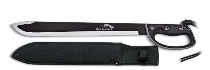 Machette black panther avec protège-main