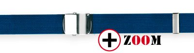 Ceinture bleue sangle