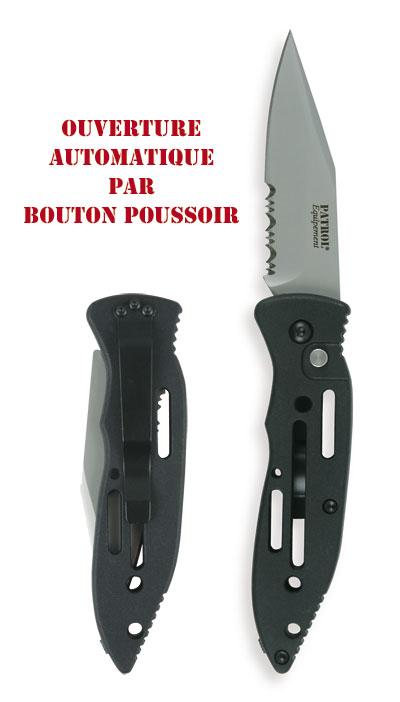 Couteau à ouverture automatique