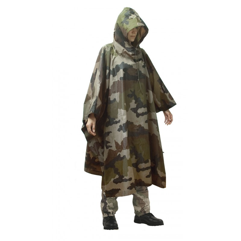 Poncho US 300D Ripstop