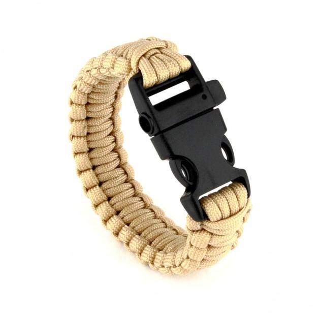 Bracelet de survie paracorde