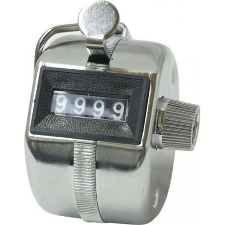 Compteur manuel métallique de 0 à 9999