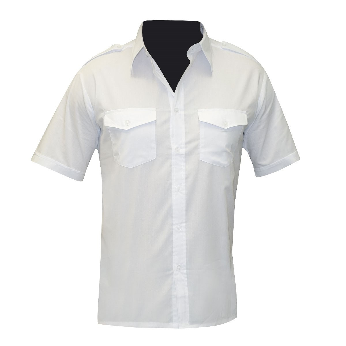 Chemise pour agent de sécurité manches courtes