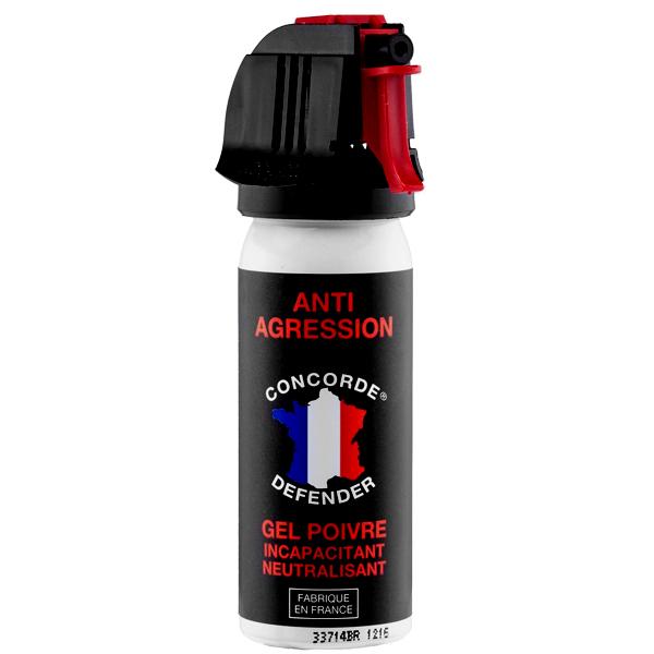 lacrymogène au gel poivre 50 ml