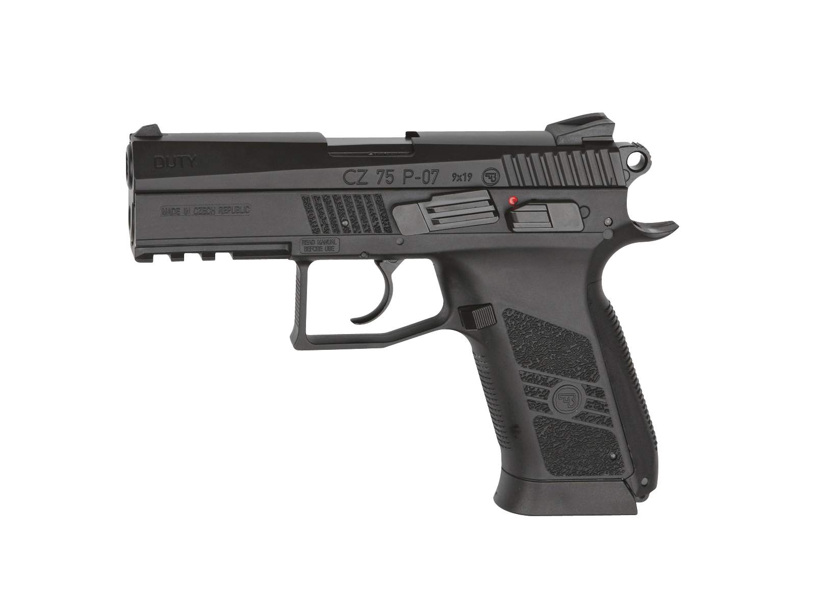Réplique Pistolet CZ 75 P-07 DUTY GBB CO2