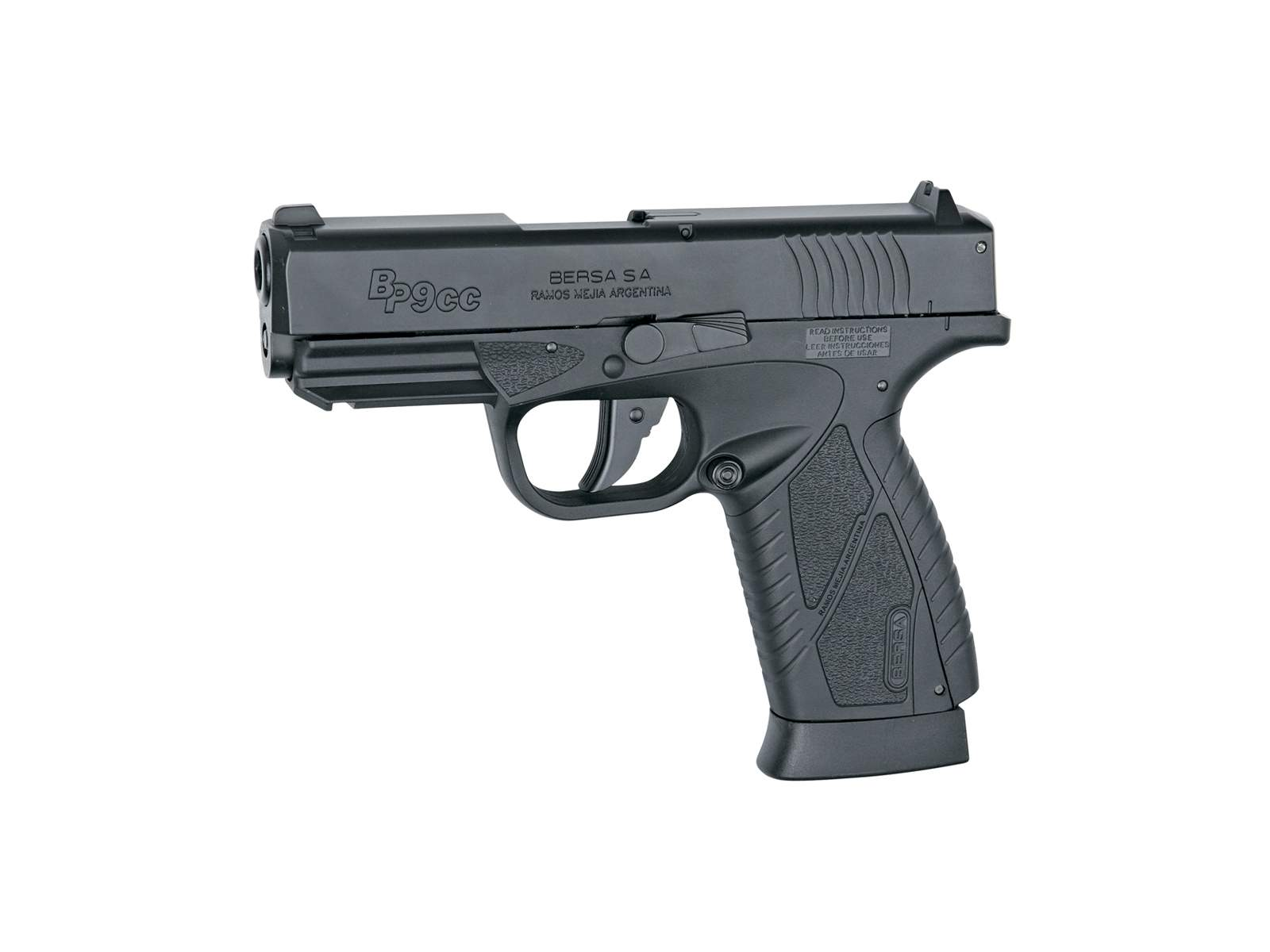 Réplique pistolet Bersa BP9CC GNB CO2