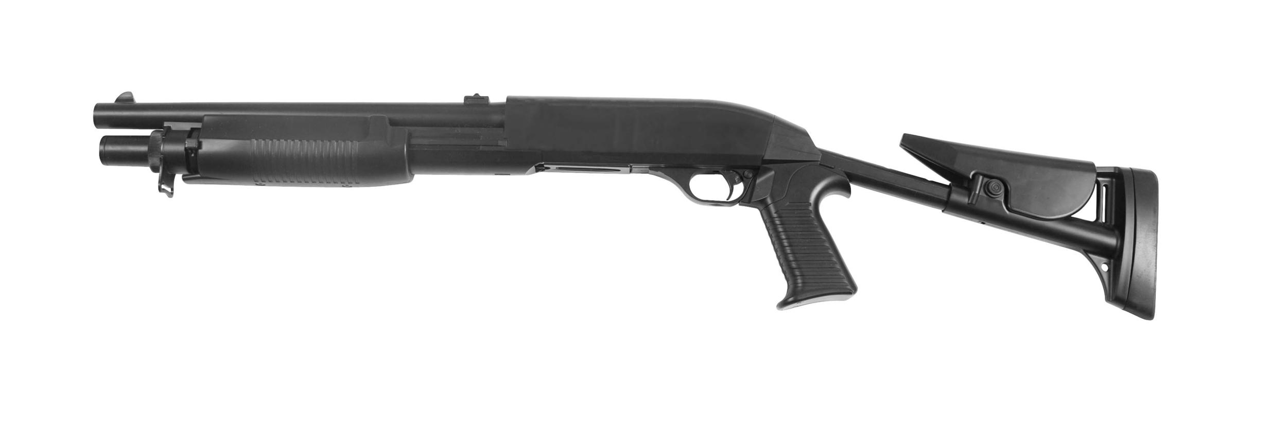 Réplique fusil à pompe Mod.FLEX STOCK