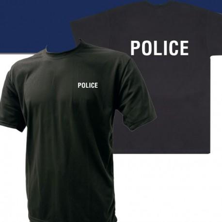 Tee-Shirt noir imprimé POLICE
