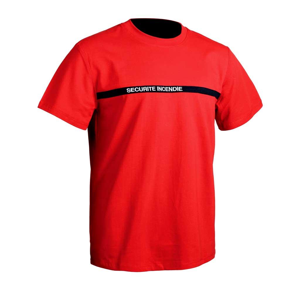 Tee-shirt sécurité incendie SSIAP