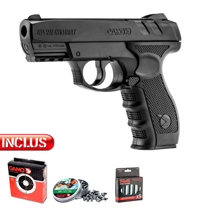 Pistolet à plombs Gamo co2 GP20